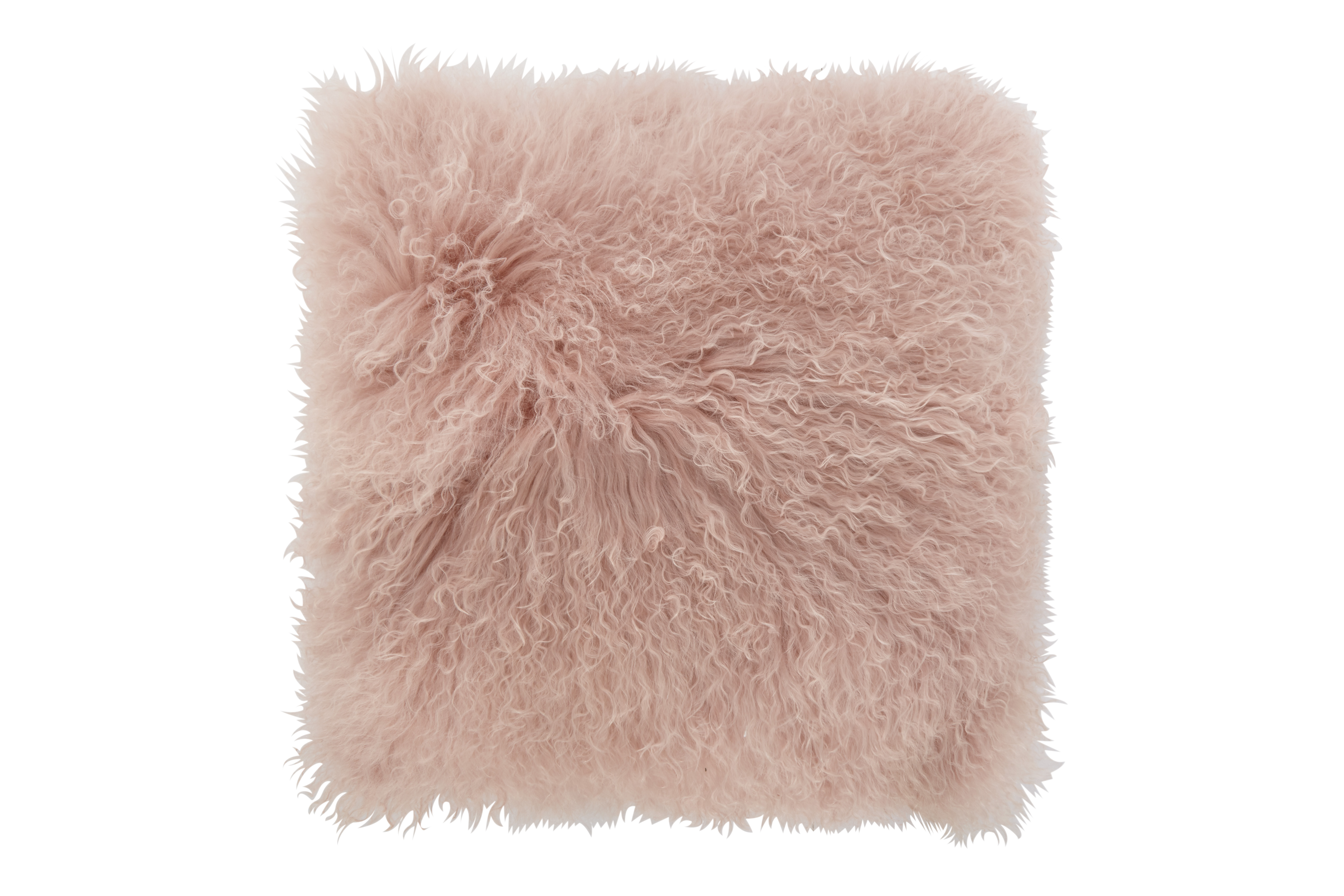 Mongolian Lamb Fur Tibby Blush Collection