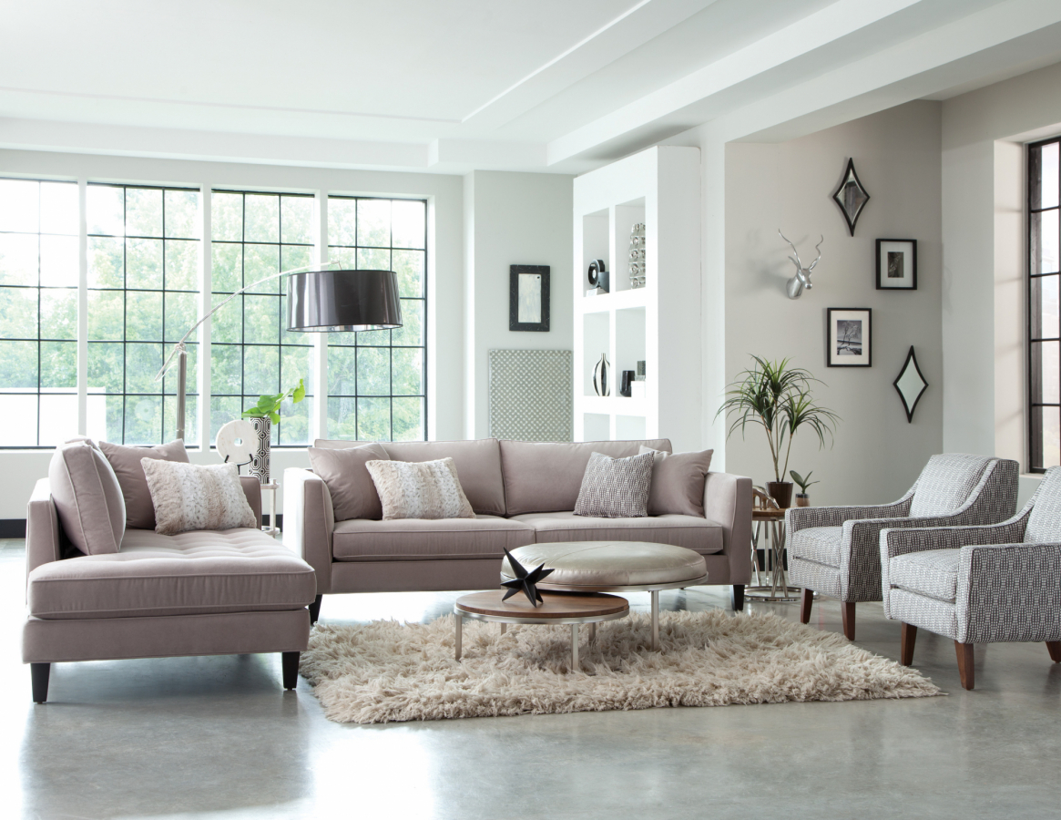 The Calista Collection Modern Sofa Jonathan Louis