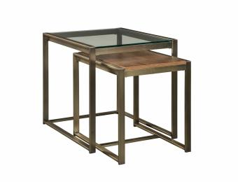 Elgin Metal Nesting End Table Collection