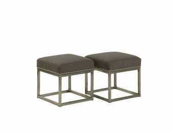 Andre Metal Footstool Collection