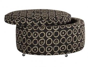 Benjamin Round Storage Ottoman Collection