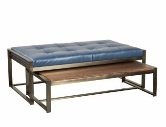 Rockford Metal Nesting Ottoman  Collection