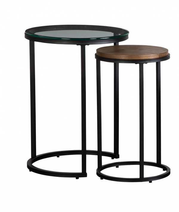 Carson Metal Black Nesting Endtable Collection